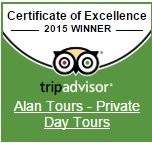Trip Advisor Cwertificate of Excellence 2015