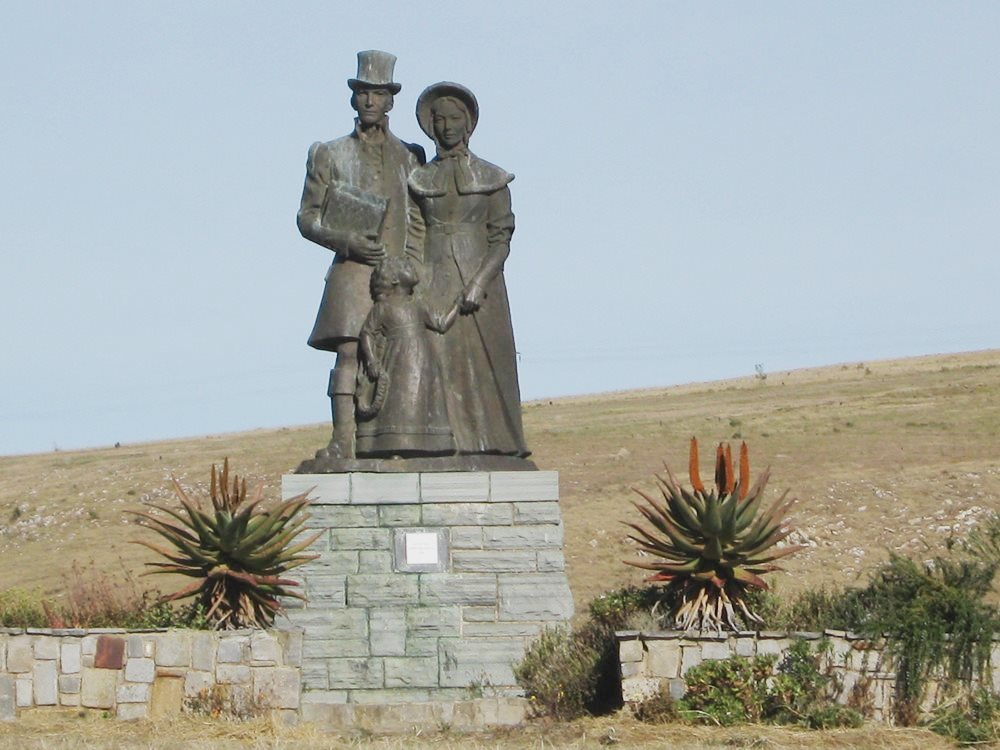 Settler's Monument, Historical Tour Albany District, South Africa