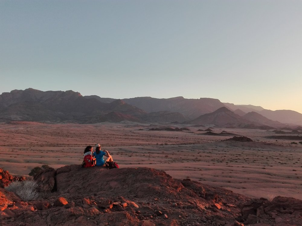Sunrise Namibia expedition with Alan Tours