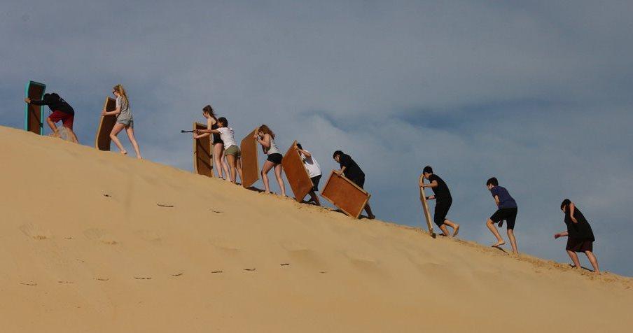Addo National Park, Sunset cruise, dune walk