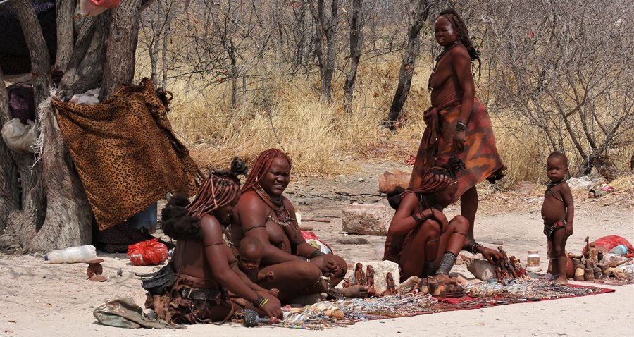Himba people, Namibia expedition