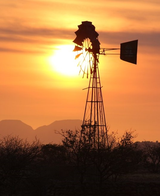 Namibia sunset, on expedition with Alan Tours, Port Elizabeth