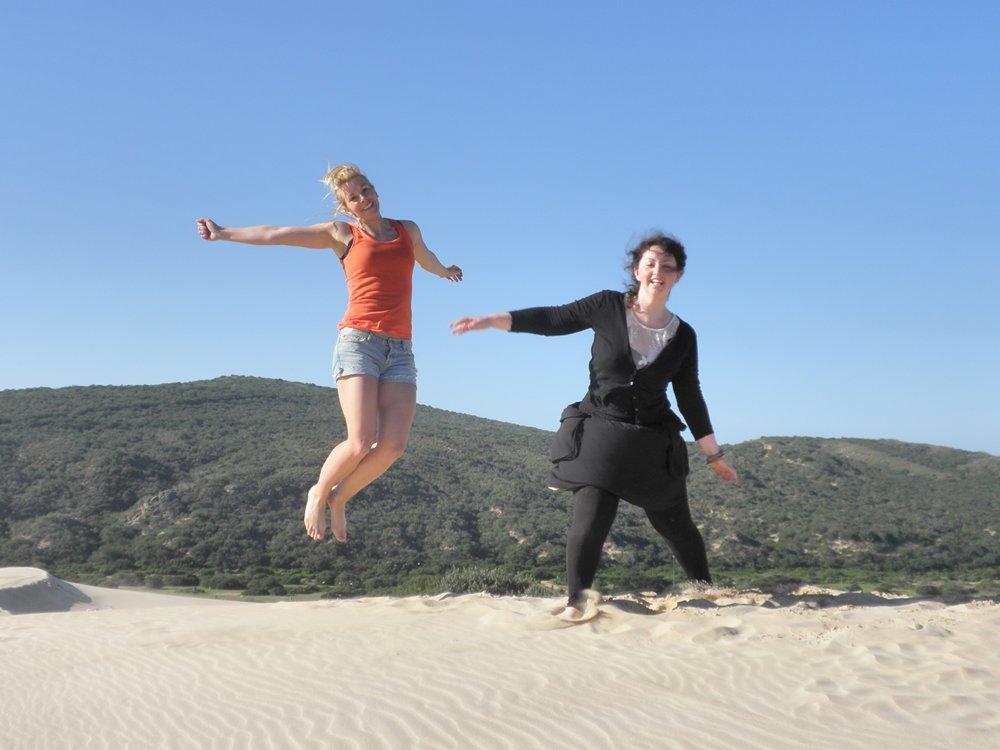 Beach sands bare foot care free days in Port Elizabeth