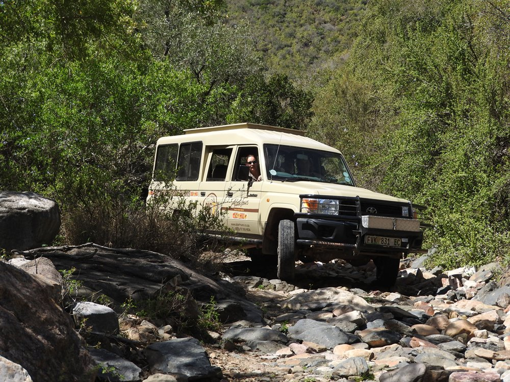 4x4 tours South Africa