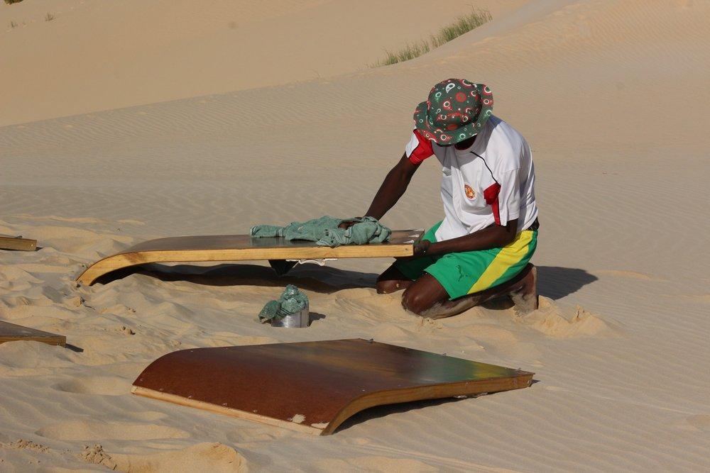 Sandboarding Port Elizabeth
