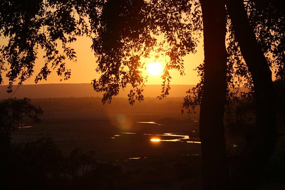 Kruger park sunset with alan tours port elizabeth south africa